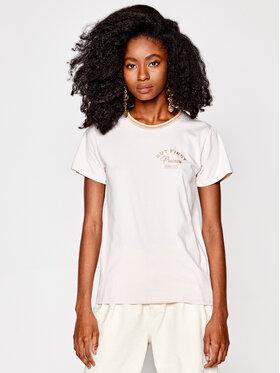 PLNY LALA PLNY LALA T-Shirt Prosecco PL-KO-FF-00026 Μπεζ French Fit