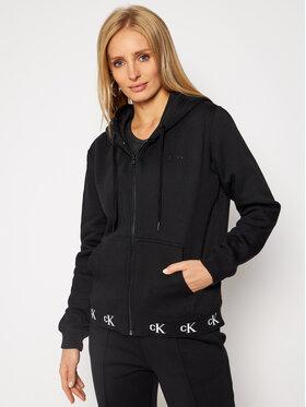 Calvin Klein Jeans Calvin Klein Jeans Mikina J20J215074 Černá Regular Fit
