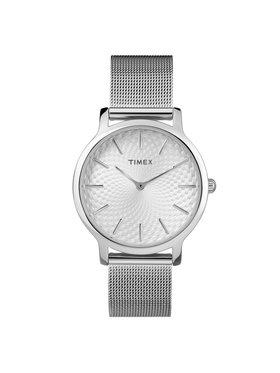 Timex Timex Hodinky Metropolitan TW2R36200 Stříbrná