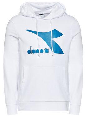 Diadora Diadora Bluză Big Logo 102.177089 Alb Regular Fit