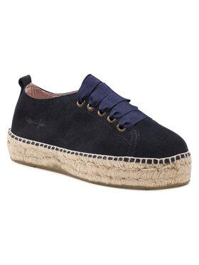 Manebi Manebi Espadryle Sneakers D K 1.5 E0 Granatowy