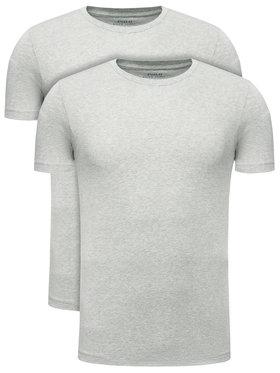 Polo Ralph Lauren Polo Ralph Lauren Σετ 2 T-Shirts 714621944 Γκρι Slim Fit