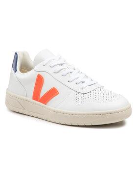 Veja Veja Sneakers V-10 Leather VX022136B Blanc