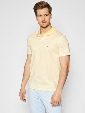 Tommy Hilfiger Tommy Hilfiger Polo Linen MW0MW17779 Giallo Slim Fit