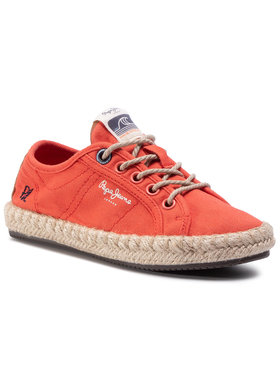 Pepe Jeans Pepe Jeans Espadrilles Tourist Island Gir PGS10170 Rot