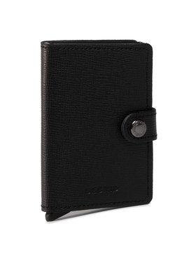 Secrid Secrid Малък мъжки портфейл Miniwallet MC Черен