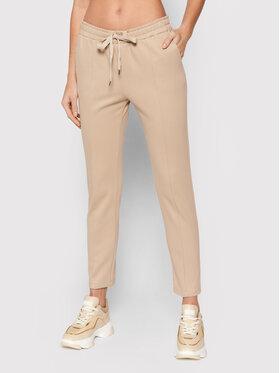 Imperial Imperial Текстилни панталони PTU9CBQ Бежов Regular Fit