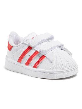 adidas adidas Обувки Superstar Cf I FZ0644 Бял