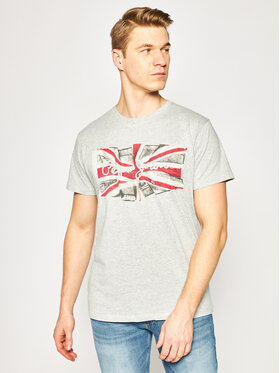 Pepe Jeans Pepe Jeans Tricou PM505671 Gri Regular Fit