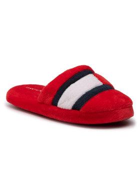 Tommy Hilfiger Tommy Hilfiger Papuče Slipper T3B0-30975-1064 M Červená