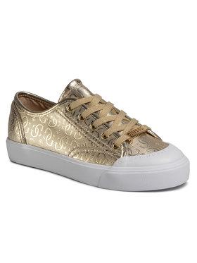 Guess Guess Sneakersy Gitney3 FL6GI3 FAL12 Zlatá