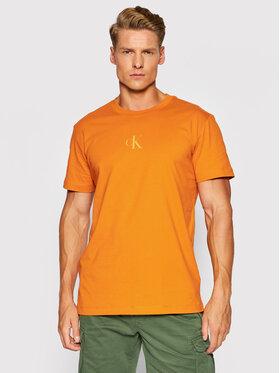 Calvin Klein Jeans Calvin Klein Jeans Тишърт J30J317499 Оранжев Regular Fit