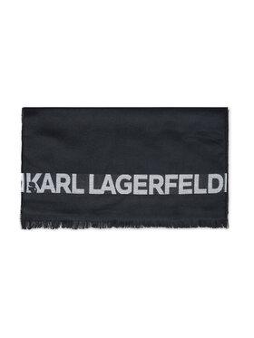 KARL LAGERFELD KARL LAGERFELD Szal 805001 512139 Czarny