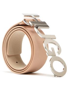 Hugo Hugo Cintura da donna Zula Belt 4 Cm 50391327 Beige