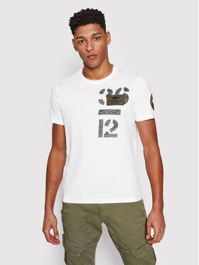 Aeronautica Militare Aeronautica Militare T-Shirt 211TS1868J492 Biały Regular Fit