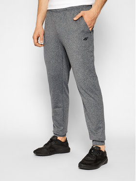 4F 4F Pantaloni da tuta NOSH4-SPMTR001 Grigio Regular Fit