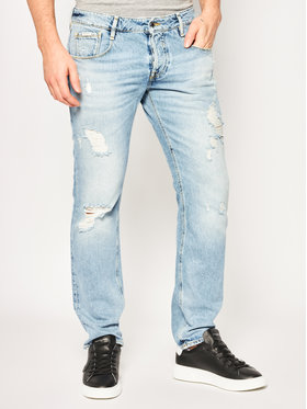 Guess Guess Blugi Slim Fit vermont M02AS3 D3ZJ1 Albastru Slim Fit