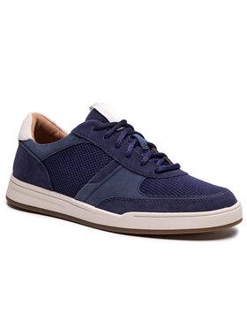 Clarks Clarks Sneakersy Bizby Lace 261596567 Granatowy