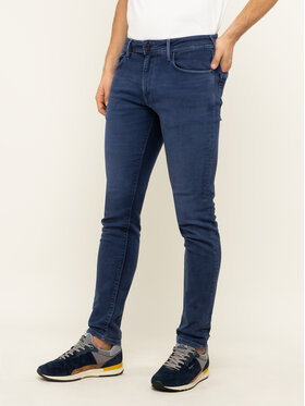 Pepe Jeans Pepe Jeans Blugi Tapered Fid Stanley PM210947YB2 Bleumarin Tapered Fit