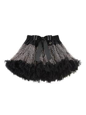 LaVashka LaVashka Spódnica 90-B Czarny Regular Fit
