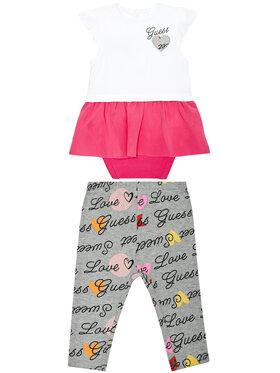 Guess Guess Komplet bluzka i legginsy S1RG04 J1311 Kolorowy Regular Fit
