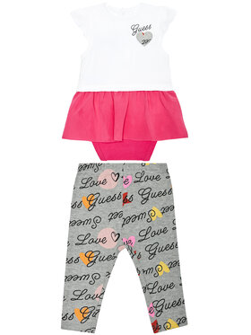 Guess Guess Set Bluse und Leggings S1RG04 J1311 Bunt Regular Fit