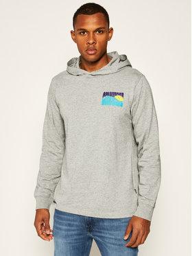 Converse Converse Sweatshirt Graphic Tee 10020434-A01 Grau Regular Fit