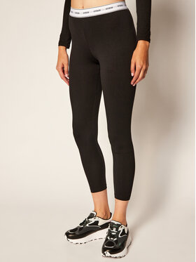 Guess Guess Leggings O0BB00 KABQ0 Schwarz Slim Fit