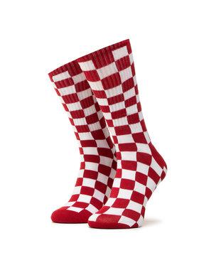 Vans Vans Dámské klasické ponožky Checkerboard Crew VN0A3H3NRLM1 r.38,5/42 Červená