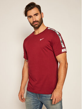 NIKE NIKE T-Shirt Nsw Repeat Tee CZ7829 Bordó Standard Fit