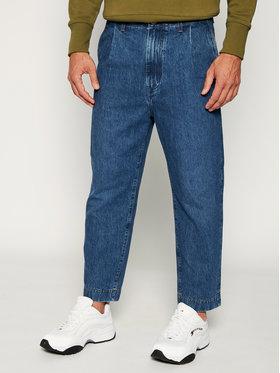 Wrangler Wrangler Jeansy Regular Fit Pleated Chino W15LQ7052 Blu scuro Regular Fit