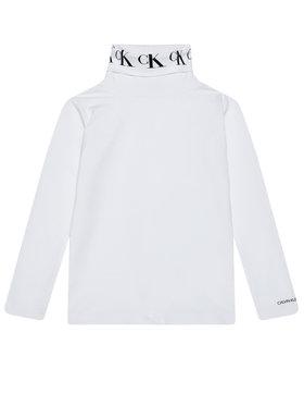 Calvin Klein Jeans Calvin Klein Jeans Поло Monogram IG0IG00674 Бял Regular Fit