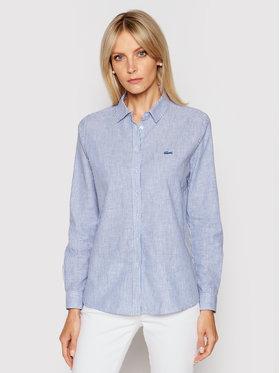 Lacoste Lacoste Camicia CF0120 Blu Regular Fit
