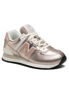 New Balance New Balance Sneakersy WL574PM2 Złoty