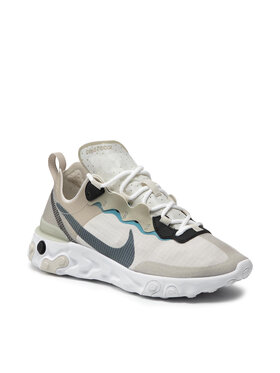Nike Nike Topánky React Element 55 RM CU1466 200 Sivá