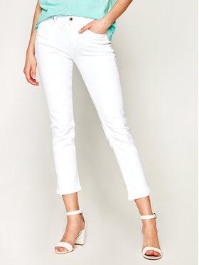 Calvin Klein Calvin Klein Jeansy Slim Fit K20K201905 Biały Slim Leg