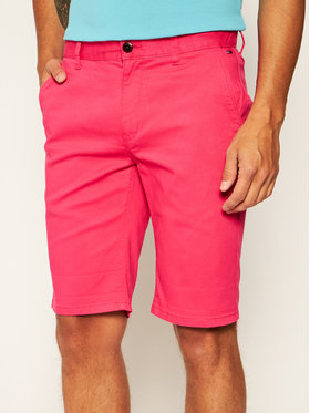 Tommy Jeans Tommy Jeans Pantaloncini di tessuto Tjm Essential Chino DM0DM05444 Rosa Regular Fit