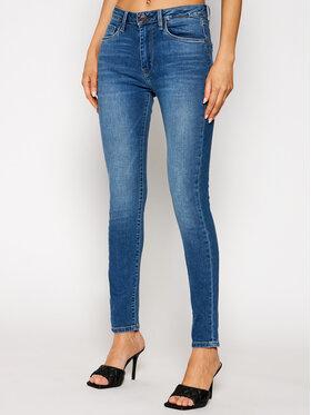 Pepe Jeans Pepe Jeans Jeansy Regent PL200398 Modrá Skinny Fit