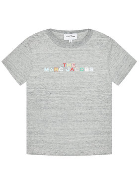 Little Marc Jacobs Little Marc Jacobs T-Shirt W15543 S Grau Regular Fit