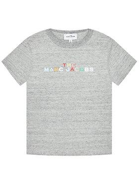 Little Marc Jacobs Little Marc Jacobs T-shirt W15543 S Gris Regular Fit