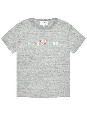Little Marc Jacobs Little Marc Jacobs T-Shirt W15543 S Szary Regular Fit