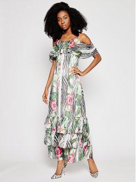 Guess Guess Sukienka letnia Agathe W1GK1F WDW52 Kolorowy Regular Fit