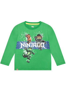 LEGO Wear LEGO Wear Bluză 12010116 Verde Regular Fit