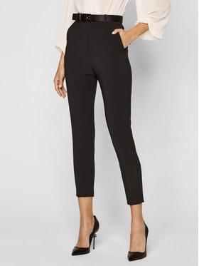 Elisabetta Franchi Elisabetta Franchi Текстилни панталони PA-349-07E2-V329 Черен Slim Fit
