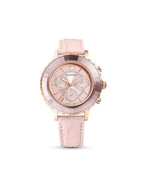 Swarovski Swarovski Zegarek Octea Lux Chrono Ls 5452501 Różowy
