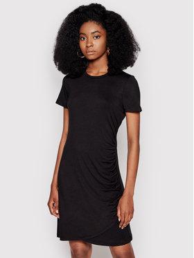 DKNY DKNY Každodenní šaty DD1CL729 Černá Regular Fit