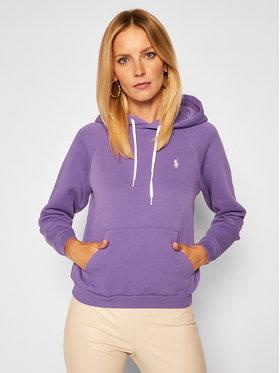 Polo Ralph Lauren Polo Ralph Lauren Sweatshirt 211794394006 Violet Regular Fit