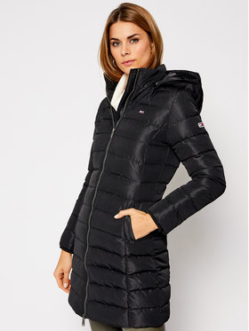 Tommy Jeans Tommy Jeans Pehelykabát Tjw Quilted DW0DW09061 Fekete Regular Fit