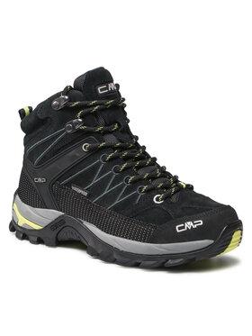 CMP CMP Παπούτσια πεζοπορίας Rigel Mid Wmn Trekking Shoe Wp 3Q12946 Μαύρο