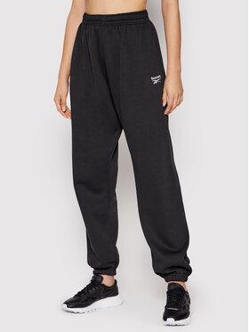Reebok Reebok Spodnie dresowe Classics Cozy GS1715 Czarny Oversize